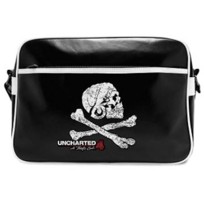Uncharted - Sac Besace - Skull - Vinyle