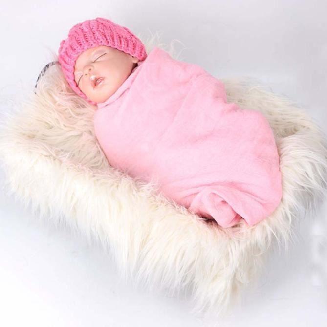 0a736780998 Nouveau-né accessoires bébé foulard photo accessoires Photographie couette  tapis photographique YXP60418645WH