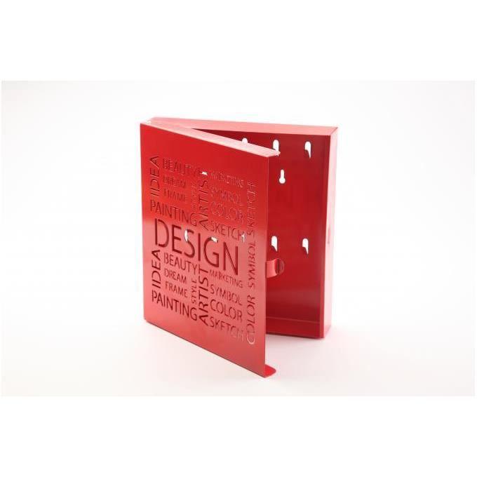 Boite Clefs Design boîte à clés design rouge - achat / vente armoire - boite a clé