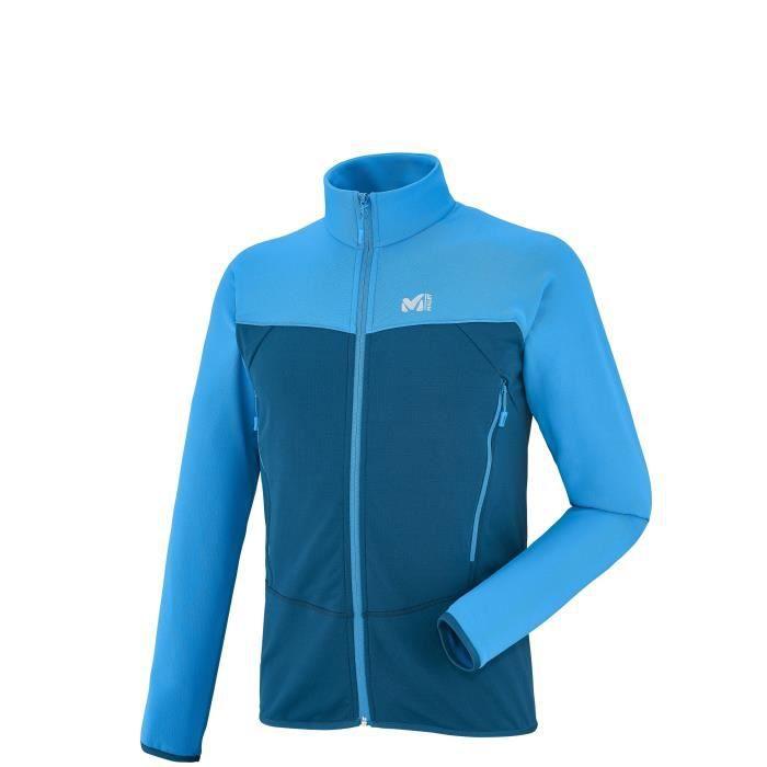 Veste Sport Technostretch Manteau Bleu Blouson Millet Homme De tAv7ZB