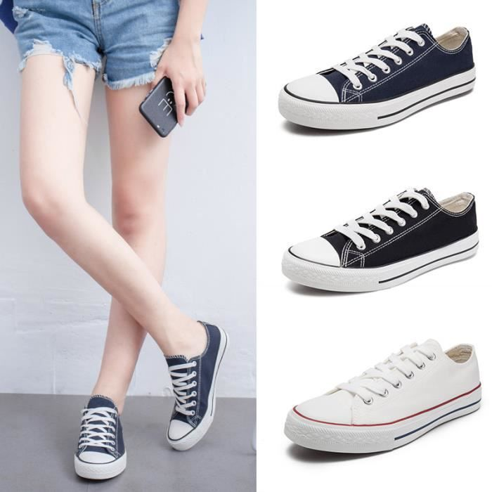 Sneakers Chaussures femme chaussure homme chaussures de toile