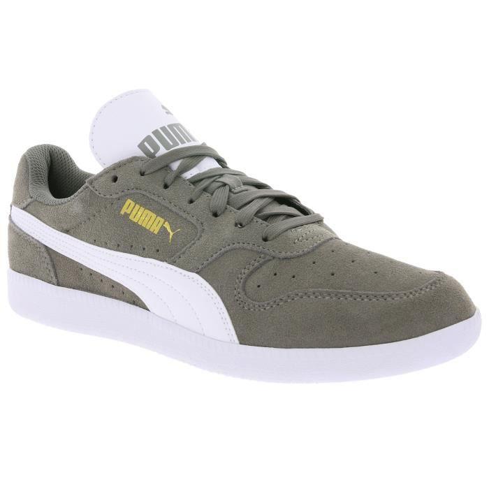 189b3473b892c PUMA Sneaker Homme Icra Trainer SD Noir Gris Gris - Achat   Vente ...