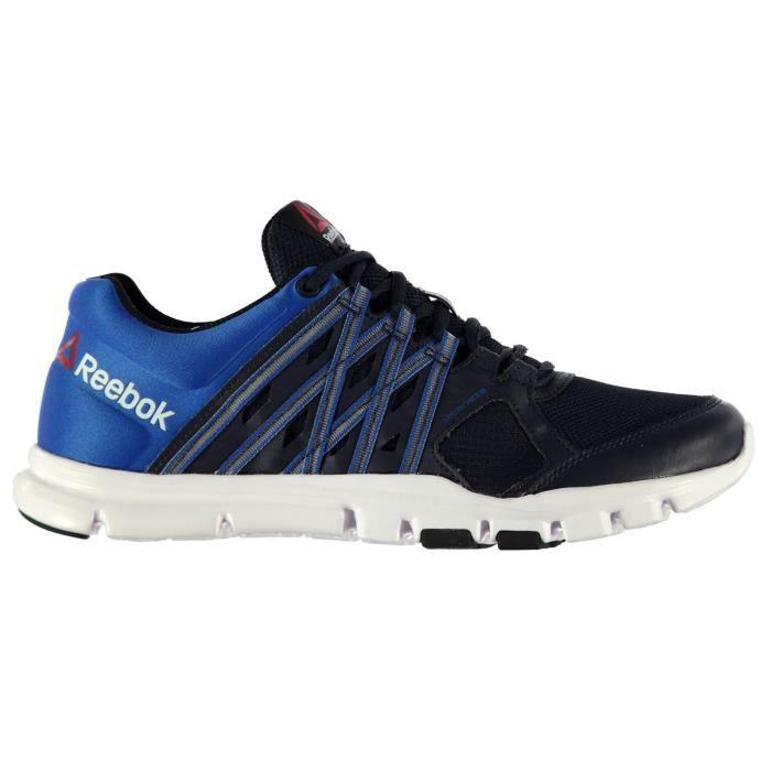 Reebok YourFlex 8 Homme Entrainement Chaussures Bleu Bleu marine ... 3fb8628ccfe5