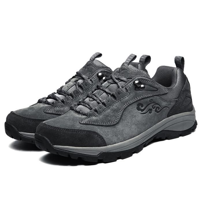 Xiang Guan- homme Suède Imperméable Outdoor Sport Chaussures de Randonnée Trekking Trail Marche Shoes