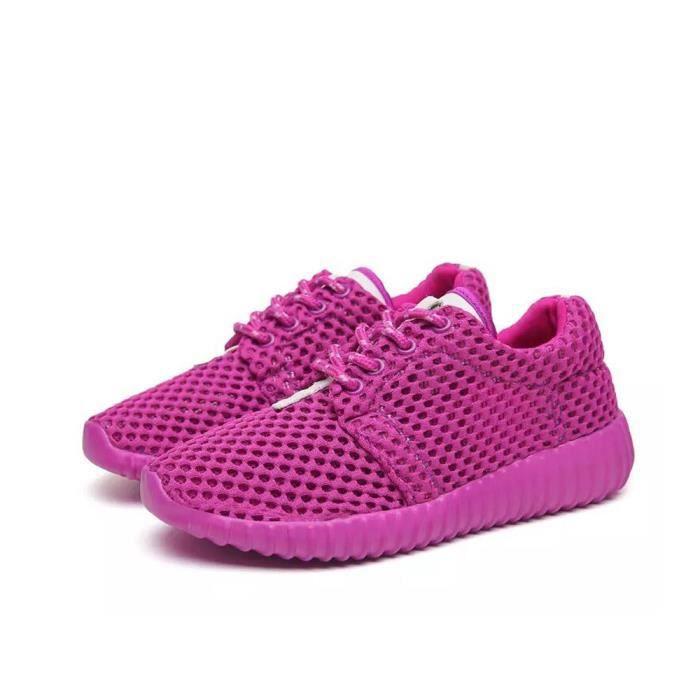 size 40 94158 b105c Basket femme Mode Feminine Baskets à Lacets Anti-dérapant Chaussure Violet