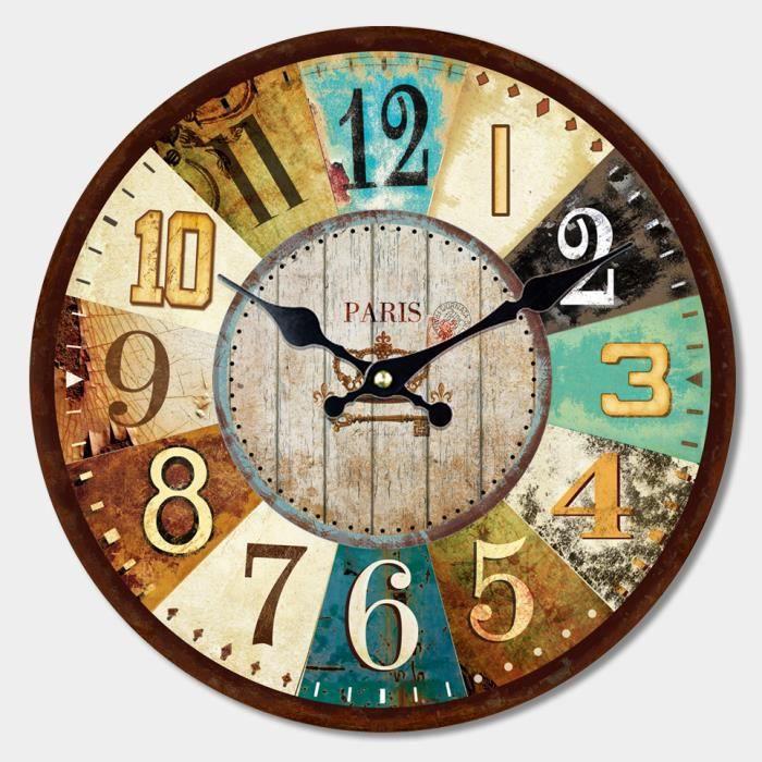 horloge murale silencieuse 40 cm achat vente horloge murale