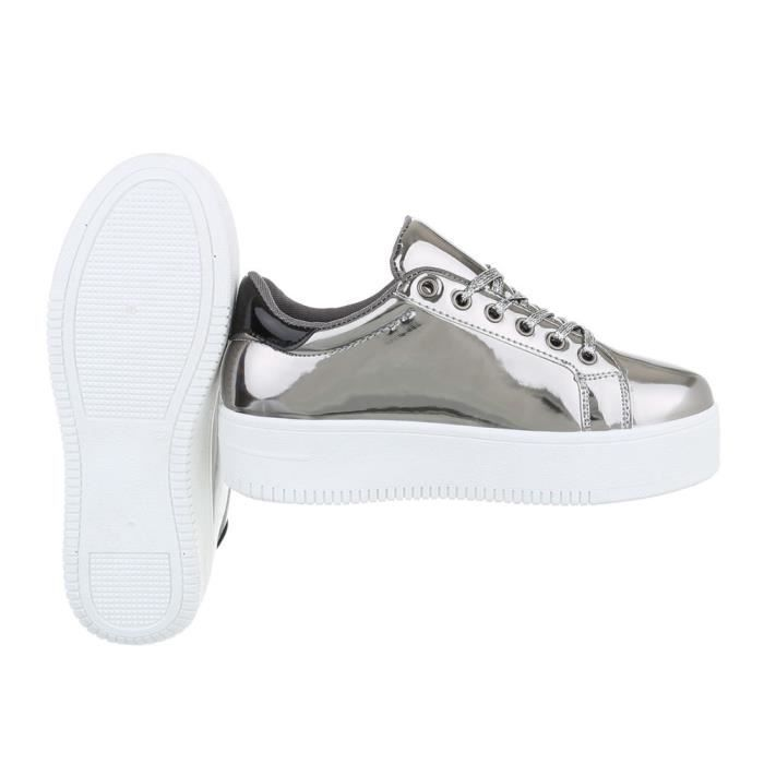 Chaussures femme chaussures sportSneakers argent 41 hCKFo8dhJ