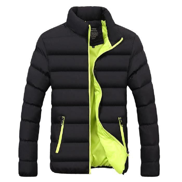 Casual Bubble Les Manteau Fit Bl990547 Slim D'hiver vêtement Épais Hommes Parka Veste Chaud rqw0Yzr