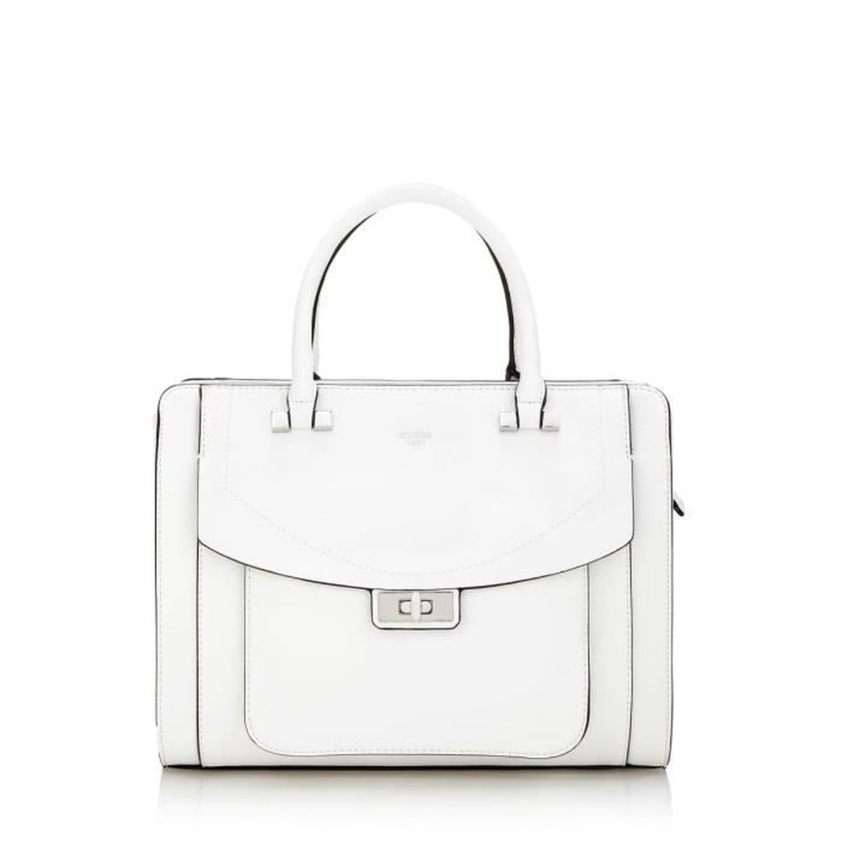 2f771a92f1 Guess - Sac à main Kingsley (HWEY6485070) whi taille - - Achat ...