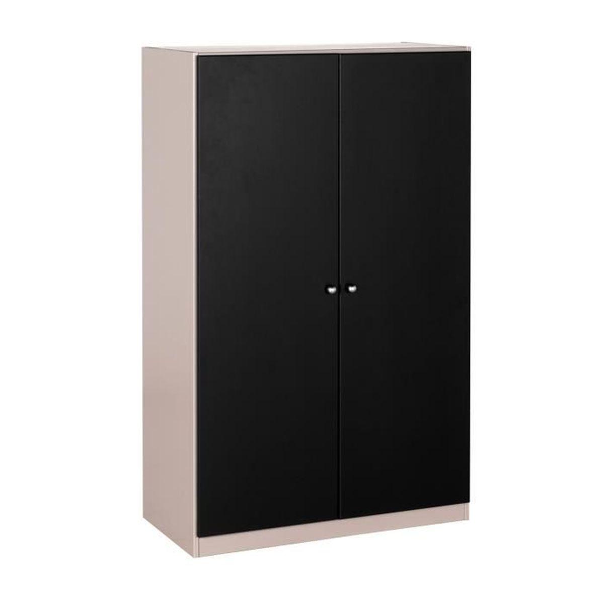 petite armoire achat vente petite armoire pas cher soldes d s le 10 janvier cdiscount. Black Bedroom Furniture Sets. Home Design Ideas