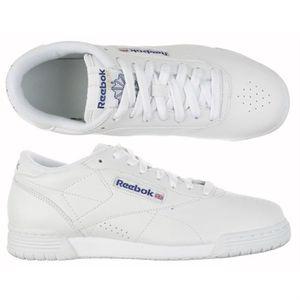 REEBOK Chaussure Classic Exofit Low Homme - Achat   Vente basket ... fee90de9d07d