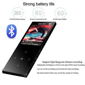 LECTEUR MP3 Benjie K8 16 Go Bluetooth Lecteur MP3 MP4 FM Radio