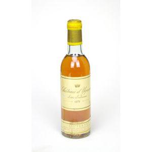 VIN BLANC 1979 - Château d'Yquem (demi-bouteille - #0898
