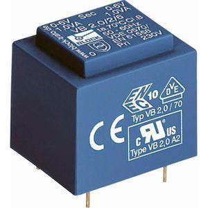 ALIMENTATION Transformateur pour circuits imprimés 1 VA prim…