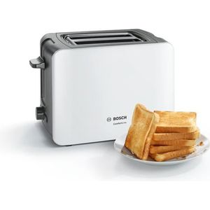 GRILLE-PAIN - TOASTER BOSCH TAT6A111 Grille-pain ComfortLine – Blanc