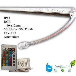 AMPOULE - LED Réglette à LED couleurs 50cm RGB avec télécomma...