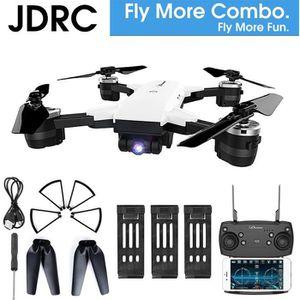 DRONE JDRC WIFI FPV RTF RC Drone 3 Batterie + Camera 2MP