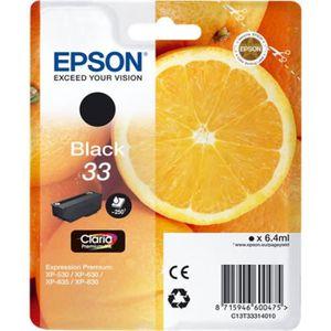 CARTOUCHE IMPRIMANTE Cartouche Epson 33 Noir (Série Orange)