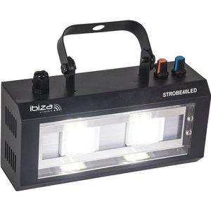 STROBOSCOPE IBIZA LIGHT STROBE40LED Stroboscope à LED 2 x 20W