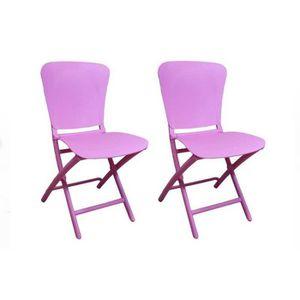 Chaises pliantes achat vente chaises pliantes pas cher for Chaises colorees