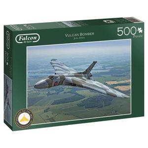 PUZZLE Puzzle 500 Pièces- Falcon Vulcan Bomber - Falcon d