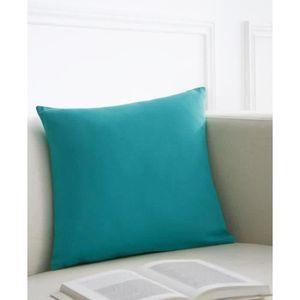 COUSSIN TODAY Coussin déhoussable 100% coton - 40x40 cm -