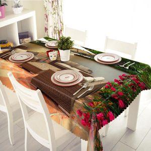 Nappes pour table de jardin - Achat / Vente pas cher