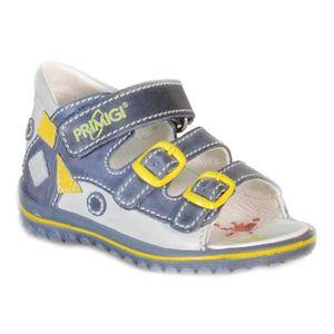 Primigi Sandales Pour Garçon Gris Cuir Velcro 81180 D9zgRreI