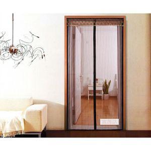 92181e9fcb6e0 MOUSTIQUAIRE OUVERTURE Moustiquaire  Rideau magnétique pour portes 86 x 2.  ‹›