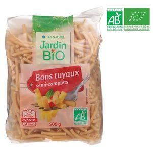 PÂTES ALIMENTAIRES LEA NATURE pâte bons tuyaux semi-complets Bio - 50