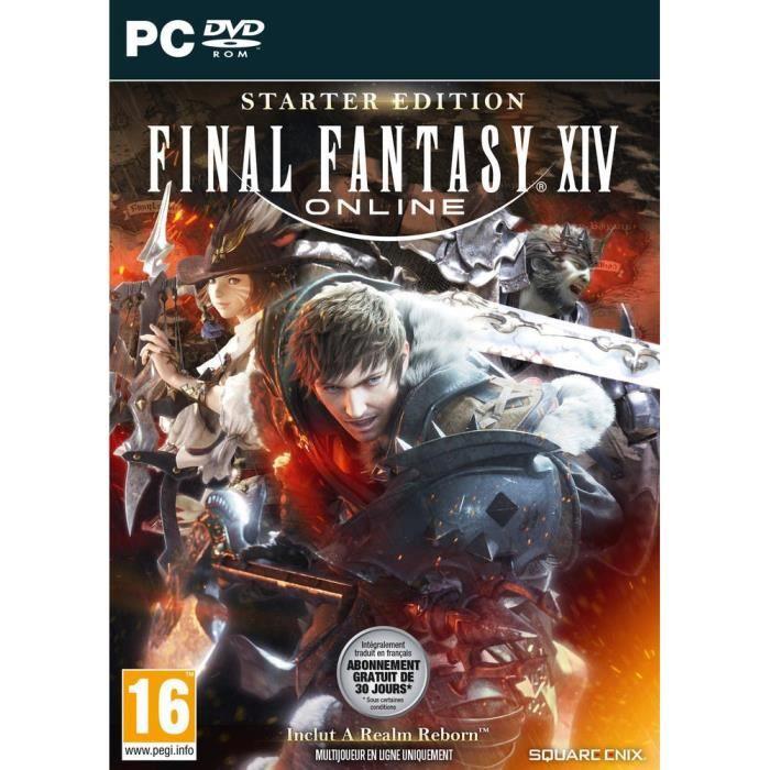 JEU PC Final Fantasy XIV :Starter Edition Jeu PC