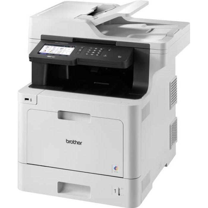 BROTHER Imprimante Multifonction 4-en-1 MFC-L8900CDW - Laser - Couleur - Réseau Wifi - A4
