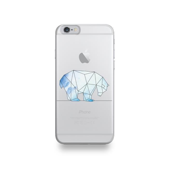 coque iphone 6 silicone ours