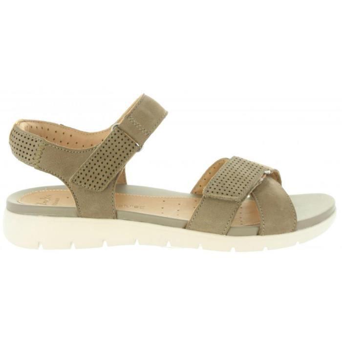 Sandales pour Femme CLARKS 26124935 UN SAFFRON SAGE NUBUCK