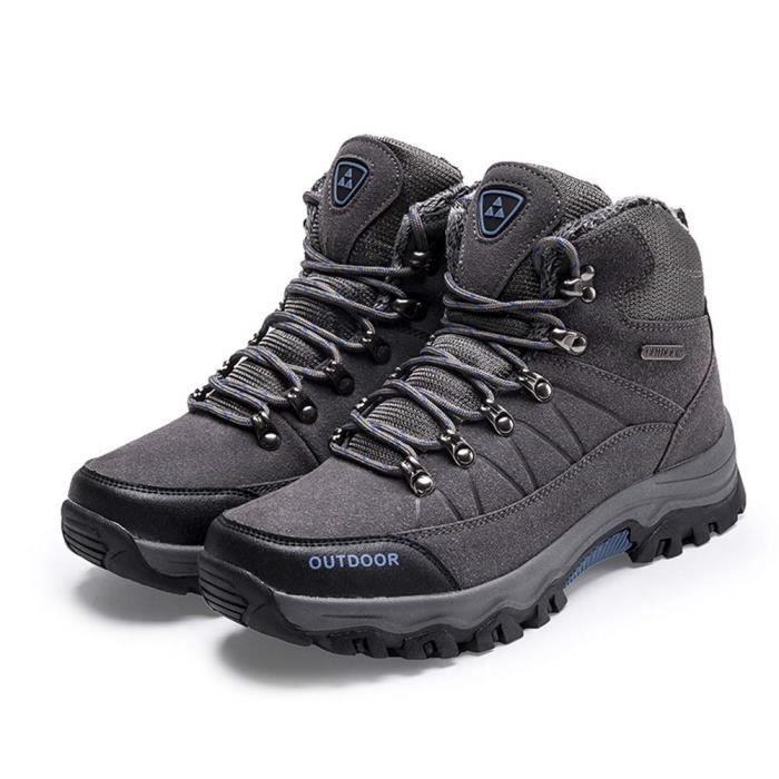 Antidérapantes Chaussures Imperméables Confortables D'hiver Pour HommesBottes Neige Randonnée Légères De Et 5LAcq34RjS
