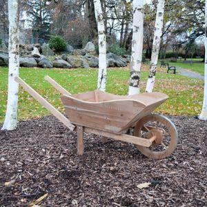 Brouette bois de jardin achat vente brouette bois de jardin pas cher soldes d s le 10 - Brouette en bois de jardin ...
