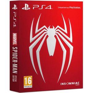 JEU PS4 NOUVEAUTÉ Marvel's Spider-Man Special Edition Jeu PS4