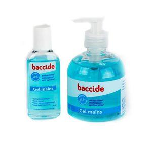 SOIN MAINS ET PIEDS Baccide Gel mains 300ml + 1 produit gratuit 75ml