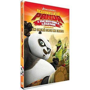 DVD DESSIN ANIMÉ Kung Fu Panda - Un Sacre Coco de Croco - L'INCROYA