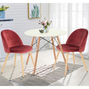 TABLE À MANGER SEULE Homy Casa Table Salle à Manger Ronde Table de Salo