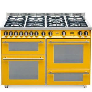 PLAQUE MIXTE LOFRA PG126SMFE + MF-2Cl jaune 120x60 cuisinière A