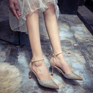 ESCARPIN Chaussures de mariage haut talon Femme Stiletto Ch