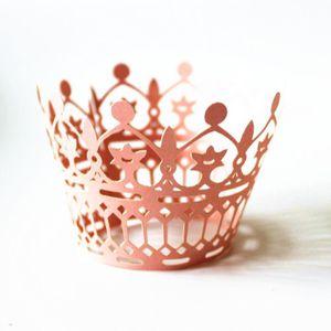 Figurine décor gâteau Boites d'emballage de gateau de fee de filigrane d