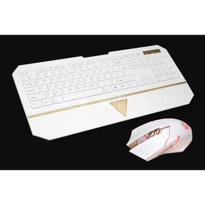 PACK CLAVIER - SOURIS clavier sans fil de la souris gamer jeu mis en kit