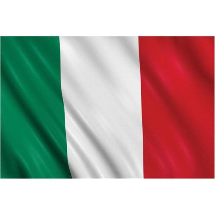 Drapeau Italie 90 X 150 Cm Prix Pas Cher Cdiscount