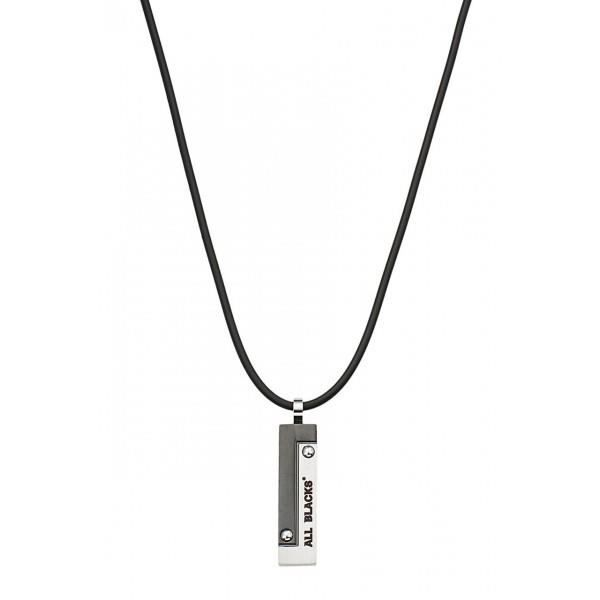 collier homme all black