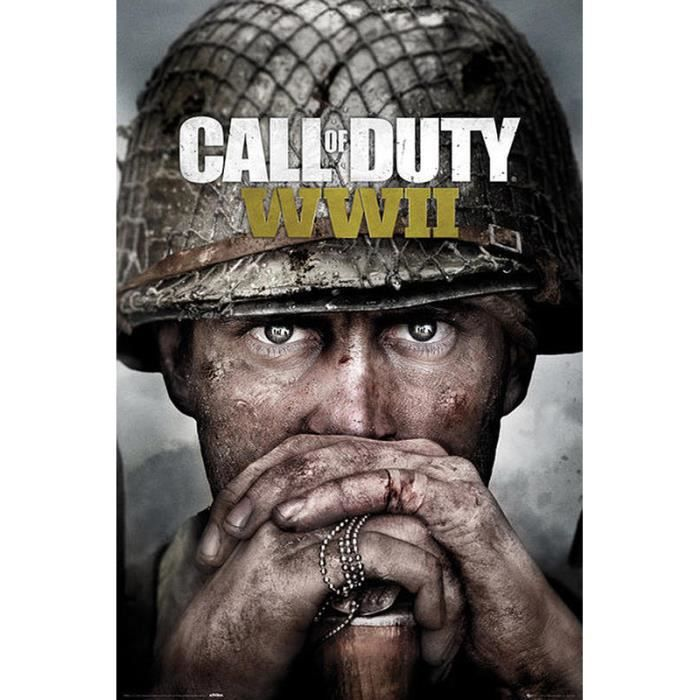 AFFICHE - POSTER Poster Call of Duty WWII - 91.5 x 61cm