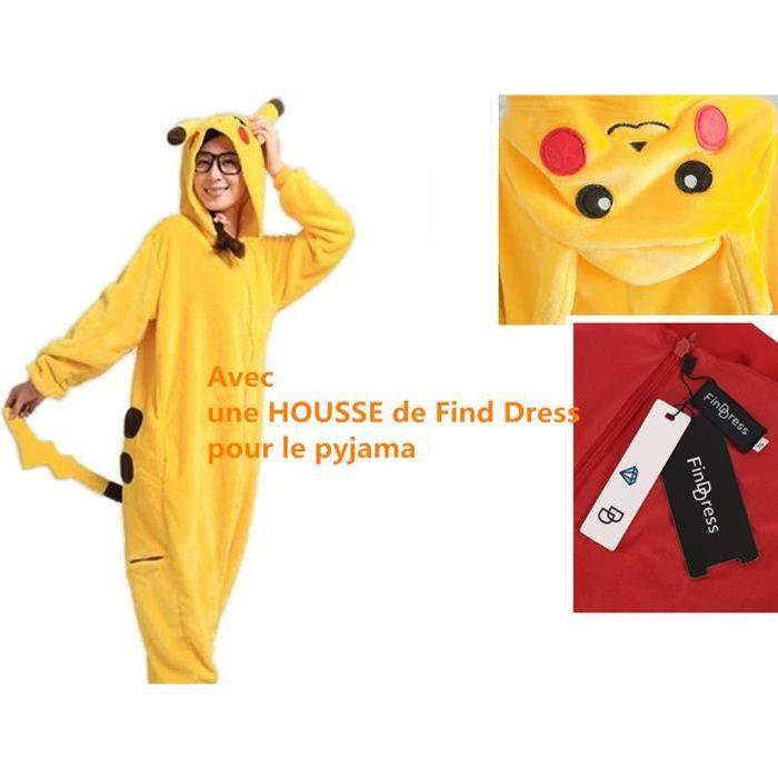 4172314892bcc Pyjama Femme Hiver Pilou Confortable chaud Pyjama Combinaison ...