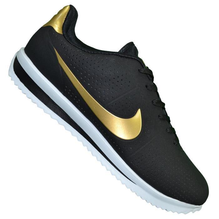 357c3c4d786 Nike - Basket - Homme - Cortez Ultra Moire - Noir Or Noir Noir ...