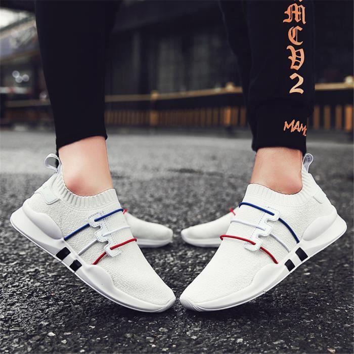 Respirant Baskets De Nouvelle L'usure Chaussures Luxe rouge Rsistantes Noir Lger Femme Poids Arrivee Sneakers blanc Marque n4r4zE